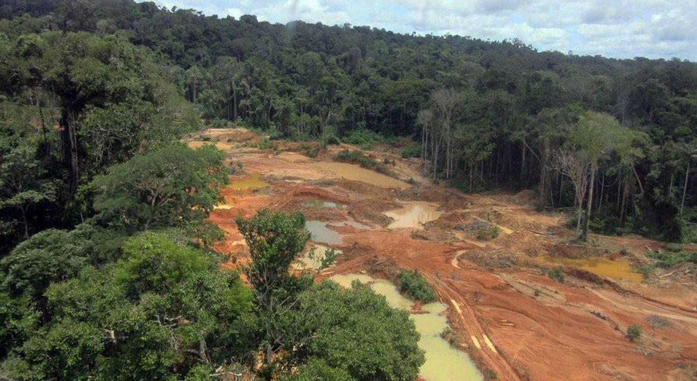 Com garimpo, Amazônia já concentra 72% da mineração no Brasil