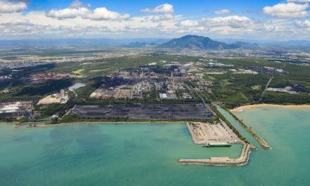 ArcelorMittal reduz risco de escassez de água com planta de dessalinização
